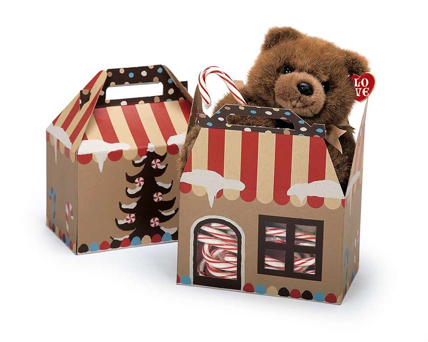 Gingerbread House Gable Boxes For The Holidays